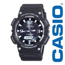 NEW Casio Illuminator Men's Slim Solar Ana-Digi Sports Watch AQS810W-1AVCF