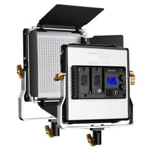 Neewer Upgraded 480 LED Panel Dimmanable Bi-color LED Light with LCD Screen