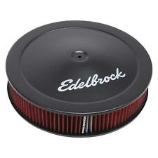 Edelbrock 1225 Pro-Flo Air Cleaner, Round, Dropped Base