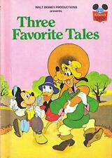 Walt Disney Productions Presents Three Favourite Tales