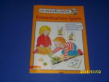 Im Kindergarten - Konzentrations-Spiele