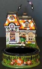 Dept 56 M&M SPOOKY HOUSE! 59319 HaLLoWeeN! MINT! NeW! SCARY FUN!