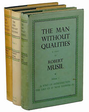 THE MAN WITHOUT QUALITIES Robert Musil ~ First Edition Set ~ 1st ~ 3 Volume Set