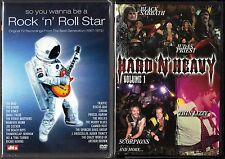So You Wanna Be a Rock 'n' Roll Star & Hard 'N' Heavy - 2 New Music Videos DVDs