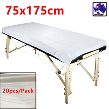 20pcs Disposable Beauty Bed Sheet SMS Non-woven Massage Table Cover SGSH54100x20