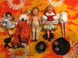Vintage Baby Doll LOT - Dolls and Accessories
