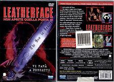LEATHERFACE Non aprite quella porta III - DVD NUOVO E SIGILLATO, UNICO E RARO!