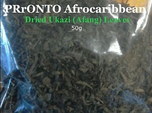 Dried Ukazi Leaves (Afang) for Soup 50g