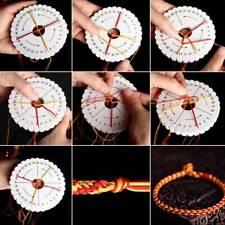 2Pcs/set Kumihimo Beading Cord Disc/Disk Rope Handmade Weaving Braiding Tools