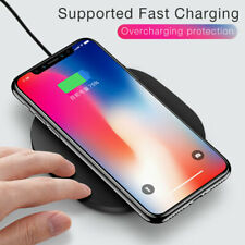Qi Wireless Charger Charging Pad for iPhone XS/Max/XR/8/X Galaxy Note 9/10/S10 +