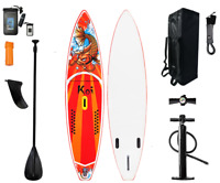 11'6'' Inflatable Stand Up Paddle Board SUP Surfboard with complete kit 6''thick