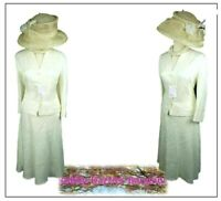 Country Casuals Ladies 2 piece Outfit size 18 14 Ivory Mother of the Bride Races