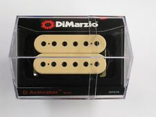 DiMarzio Regular Spaced D Activator Neck Creme W/Black Poles Dp 219