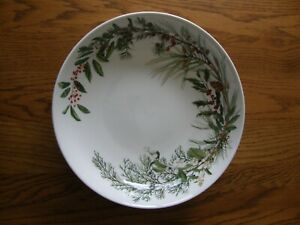 Williams Sonoma Woodland Berry Serving Bowl-Christmas-Up North-Pinecone-New