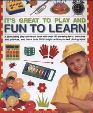 It's Great To Play and Fun To Learn: A stimulating play-and-learn book-ExLibrary
