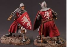 ELITE tin toy painted soldiers 54mm .knight