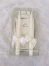 Lillian Rose Unity Tapers Wedding Collection Candles White Love Light Bride