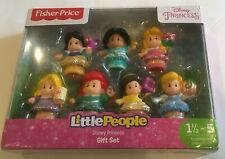 Fisher Price Little People Disney Princess Gift Set 7 Figures New In Box