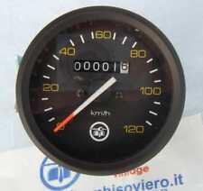 \ Contachilometri Vespa PX PE 125 150 200 prima serie ghiera nera scala 120 //