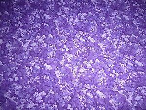 Purple Dark and Light Quilting Fabric 50cm piece
