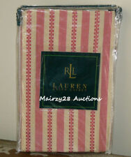 NEW Ralph Lauren HAWK SPRINGS Santa Fe RED Tan STRIPE Southwest EURO PILLOW SHAM
