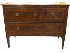 19thc Italian Two Drawer Commode