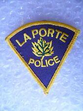 Patch- La Porte US Police Patch (NEW,apx. 75x80 mm)