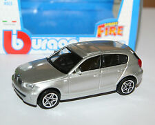 Burago - BMW 1 Series (2009) Silver - 'Street Fire' Model Scale 1:43