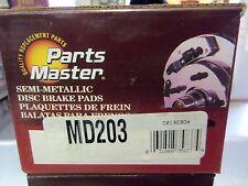 Parts Master Semi-Metallic MD203 Disc Brake Pad, Front L@@K FREE Shipping!!