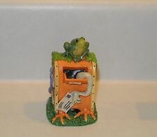 Creepy Hollow Mailbox Scare Mail box post Spooky Halloween Dept 56 Lemax