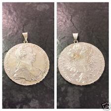 Münzanhänger Silberanhänger Maria Theresia  Maria-Theresien-Taler 830 er Silber