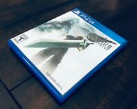 Final Fantasy VII 7 Remake PS4 PlayStation 4 Plastic Case ONLY (NO GAME) FF7