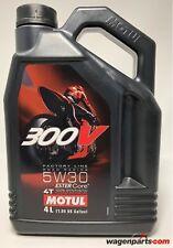 Aceite Motos 4T Motul 300V FL Road Racing 5W30, 4 litros