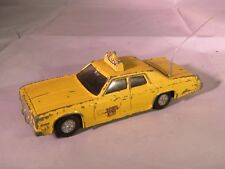 Dinky Toys Yellow Plymouth Gran Fury Taxi Cab No. 278