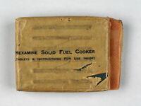 Hexamine Solid Fuel Cookers-Vintage 1958-Ex-Army Field Gear-Collectors Item