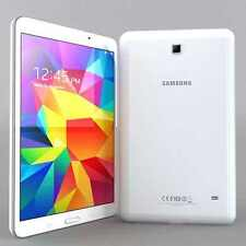 "NEW Samsung Galaxy Tab 4 SM-T235 8GB 7"" Wi-Fi Wi-Fi + 4G Unlocked Phone - White"