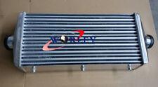 """600x300x110mm FMIC Universal Delta & Fin Aluminum turbo intercooler 3"""" 76mm pipe"""