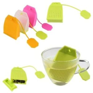 Tea Tools Tea Bag Silicone Strainer Herbal Spice Infuser Filter Diffuser Coffee