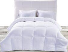 Down Alternative Comforter (White, Queen) - All Season Comforter - Plush