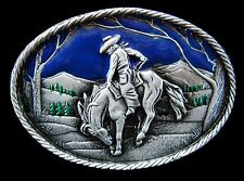 WESTERN RODEO COWBOY HORSE RANCH FARM COOL BELT BUCKLE BOUCLE DE CEINTURE