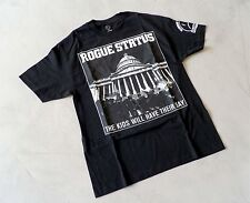 Rogue Status Razor DTA T-Shirt in Black Large THE KIDS WILL HAVE THEIR SAY