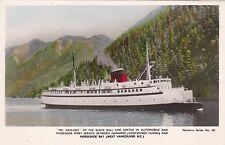 "RP, ""MV Kahloke"" Passenger Ferry , VANCOUVER , British Columbia , Canada, 10-30s"