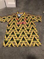 Arsenal 91-93 Bruised Banana Retro Soccer Football Jersey Extra Large