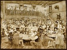 Western Saloon by Tim Joyner 18x24 Litho Print signed by the artist