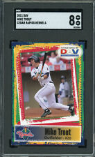 2011 DAV  Mike Trout  Rookie!!  Cedar Rapids Kernels  TOUGH!!  SGC 8 !!