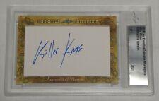 Killer Kevin Kross Signed 2018 Leaf Executive Collection Masterpiece #1/1 Card