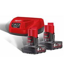 MILWAUKEE | M12 NRG-602 | ENERGY PACK 12V | 2 Batterie 6.0Ah + Caricabatterie