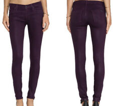 Hudson Nico Super Skinny Jeans in Mulberry Wax Size 28