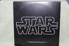 Star Wars Vinyl Record Original Soundtrack 1977 Fox 20th Century Records Poster!