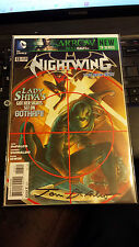 NIGHTWING #13 SIGNED IN BLACK BY TOM DEFALCO LIMITED #17 OF 40 DF COVER WITH COA